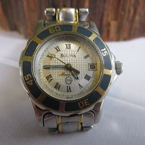 Bulova Ladies Marine Star Date Watch